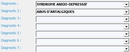 Exemple 2 : Informations diagnostics